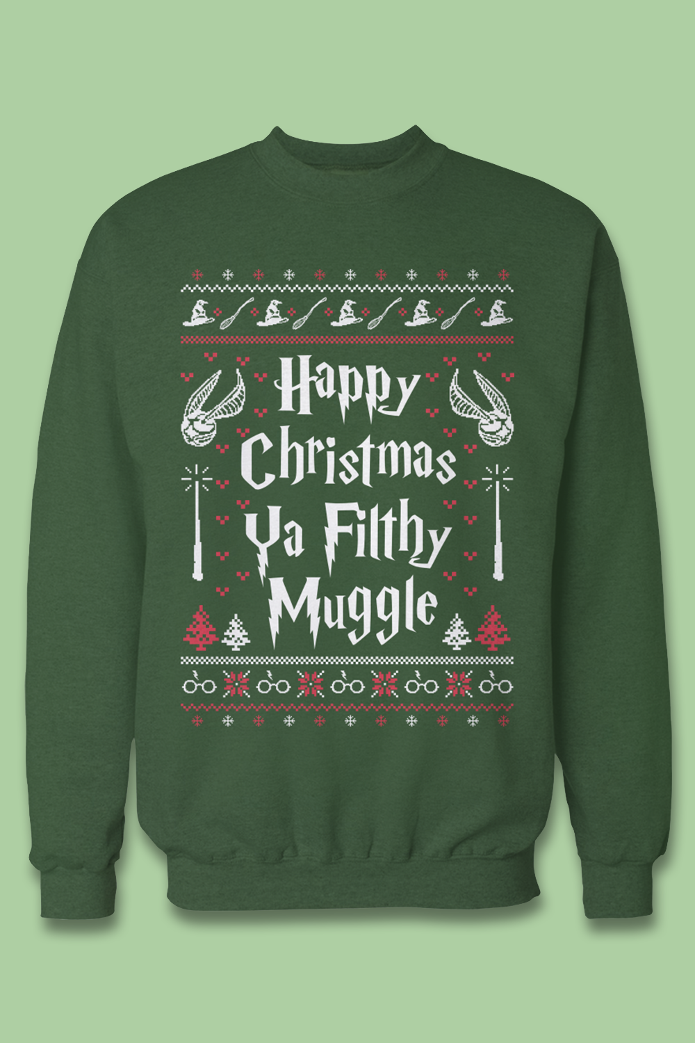 a86a7e1c7 The best gift for Harry Potter fans! I need this ugly christmas sweater <3