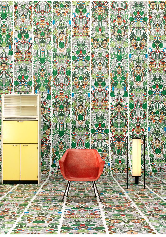 L Afrique Archives Wallpaper By Studio Job At Bo And Fou Get Off Your First Order Award Winning Inspiring Concept