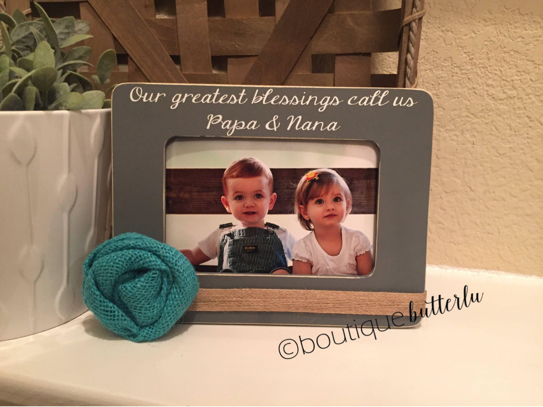 Christmas Gift for Grandparents Grandma Nana Papa Great Grandma Gigi ...