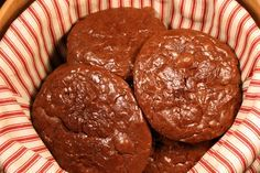 Flourless Chocolate Cookies. Deny yourself if you dare!