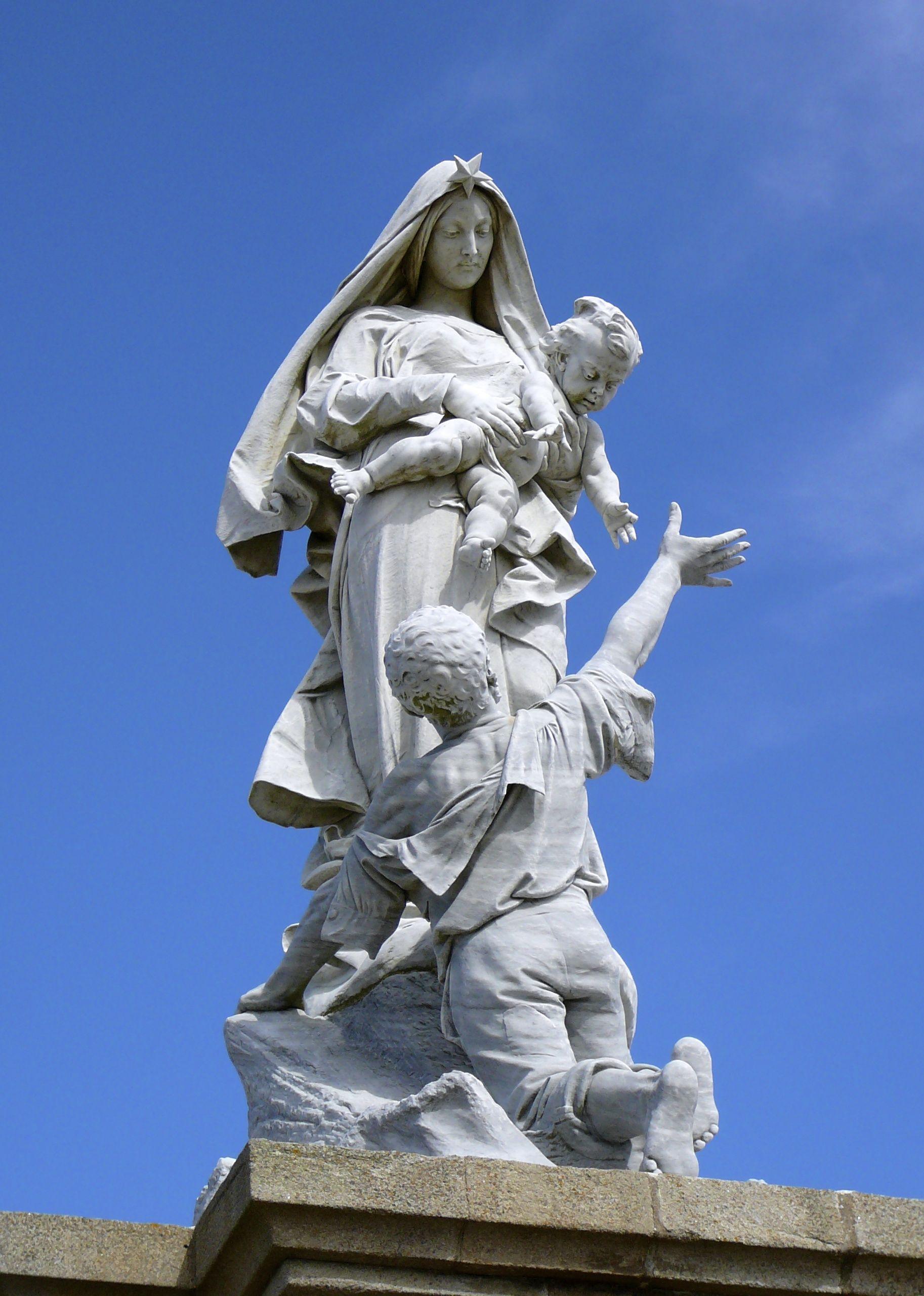 Notre Dame Des Naufragés, Pointe du Raz, Bretagne, La France