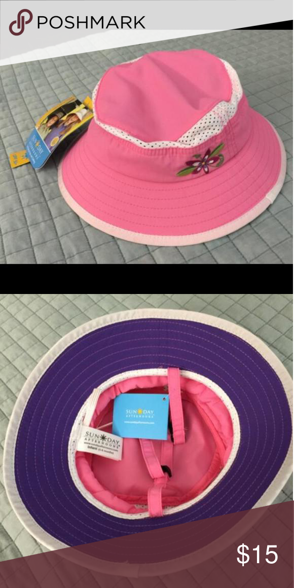 39f5c132c4680 Brand new Sunday afternoon baby girl bucket hat Brand new Sunday afternoon  baby girl bucket hat. With tag. Accessories