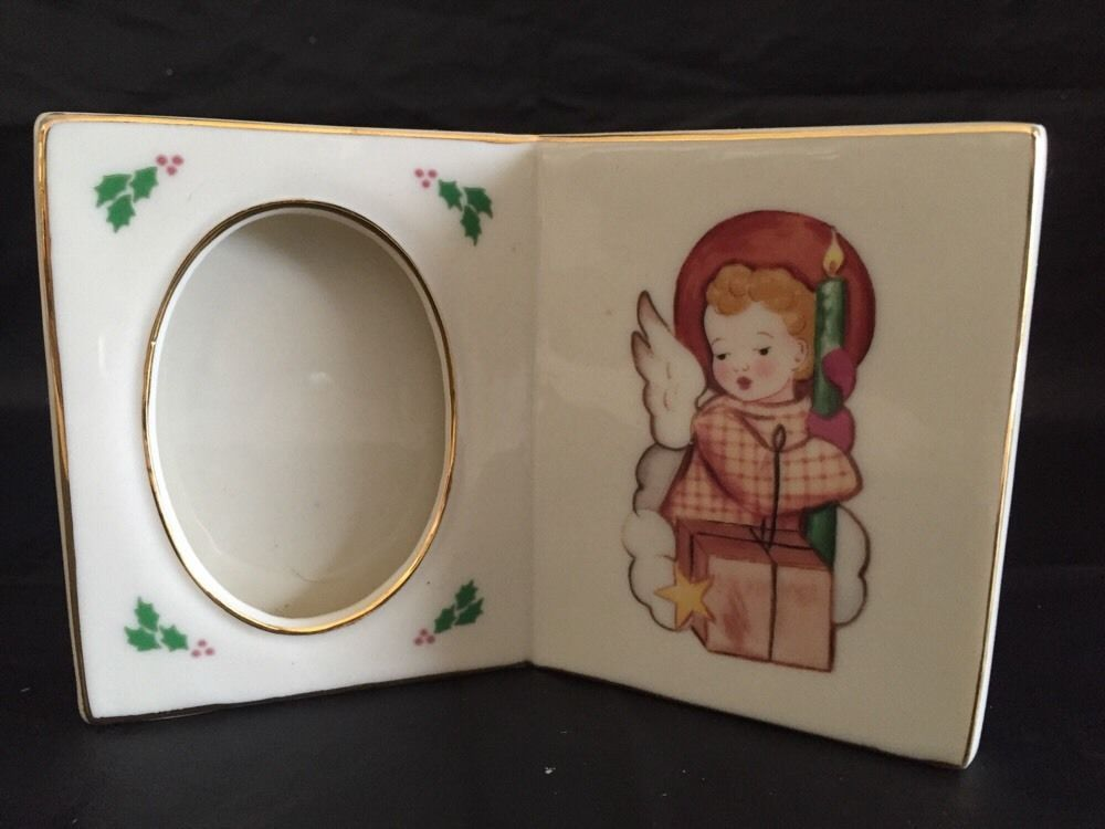 Littlest Light Berta Hummel Season Blessing Christmas Collectible Picture Frame
