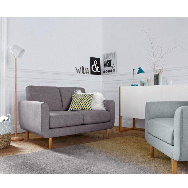 canap 2 places jimi la redoute interieurs suite. Black Bedroom Furniture Sets. Home Design Ideas