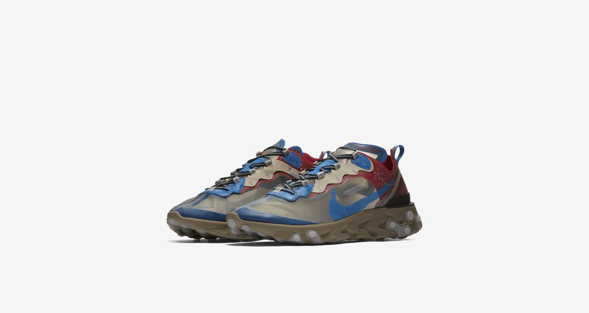 5ea172e78d4b Undercover x Nike React Element 87 – Light Beige