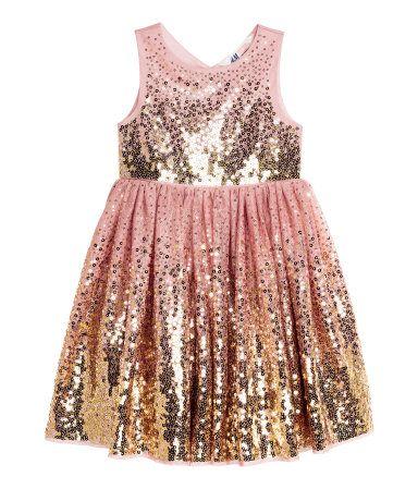 Dress By H M Kids 1 5 10 Yrs Frocks For Girls Kids Dress Beige Long Dresses