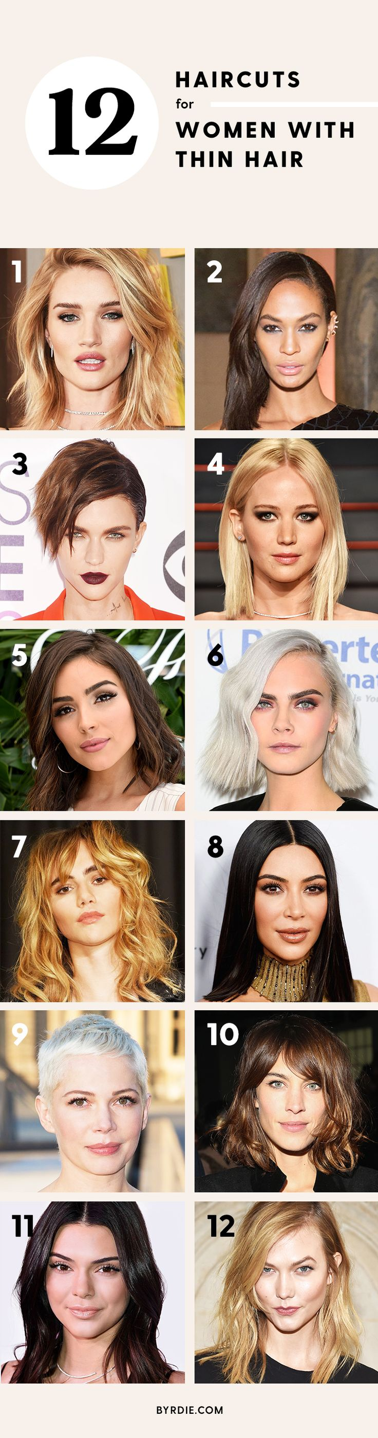 Best hairstyles for the best haircuts for thin hair