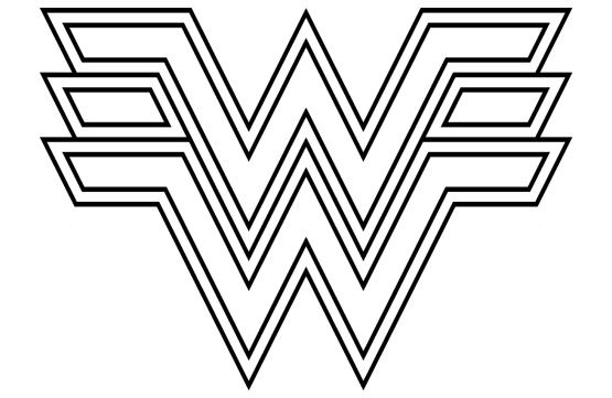 Free Wonder Woman Font Clipart Best Wonder Woman Birthday
