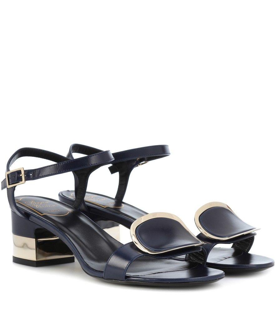 7a20e05ceac Roger Vivier - Chips West Buckle leather sandals - Update your sunshine  accessories edit with Roger Vivier s Chips West Buckle sandals.