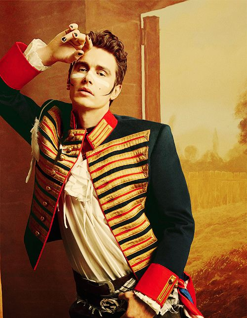 James Franco as Adam Ant