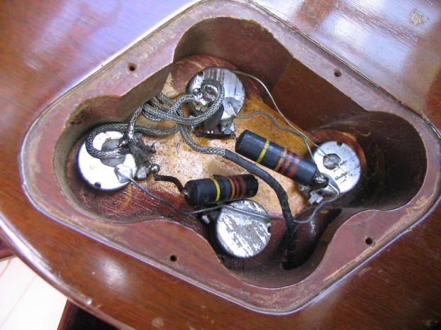 57 les paul gold top cavity 7_2566 guitars les paul gold top Les Paul Jr Wiring