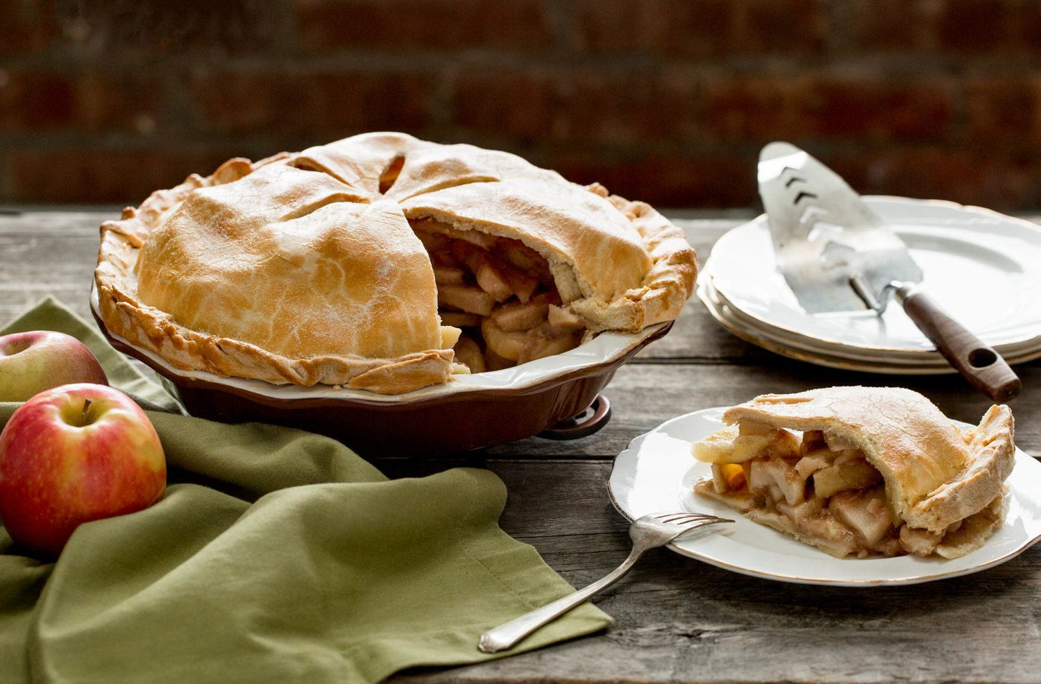 Deep Dish Apple Pie for New York Times Apple pie, Deep