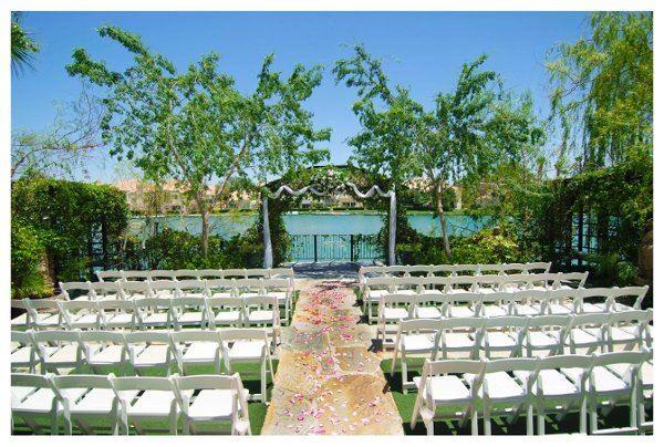 Summerlin Wedding Venue Outdoor Waterfront Outdoor Wedding