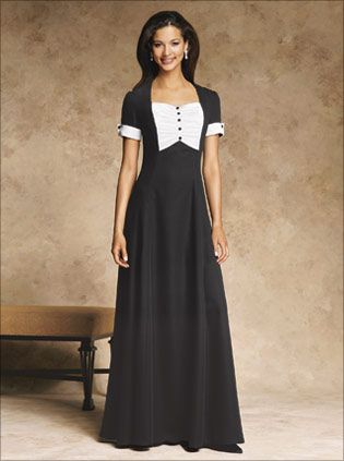 0b5887fc077 I love this dress!  stage accents  tuxedo dress  choir