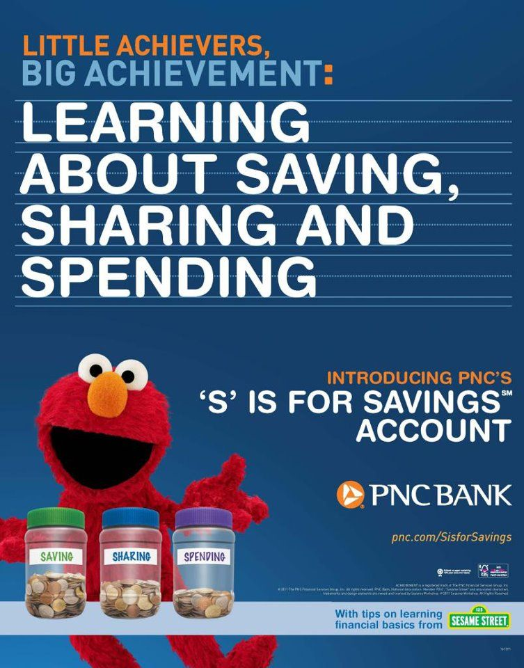 PNC Bank 'S' is for Savings Account   Educating Children