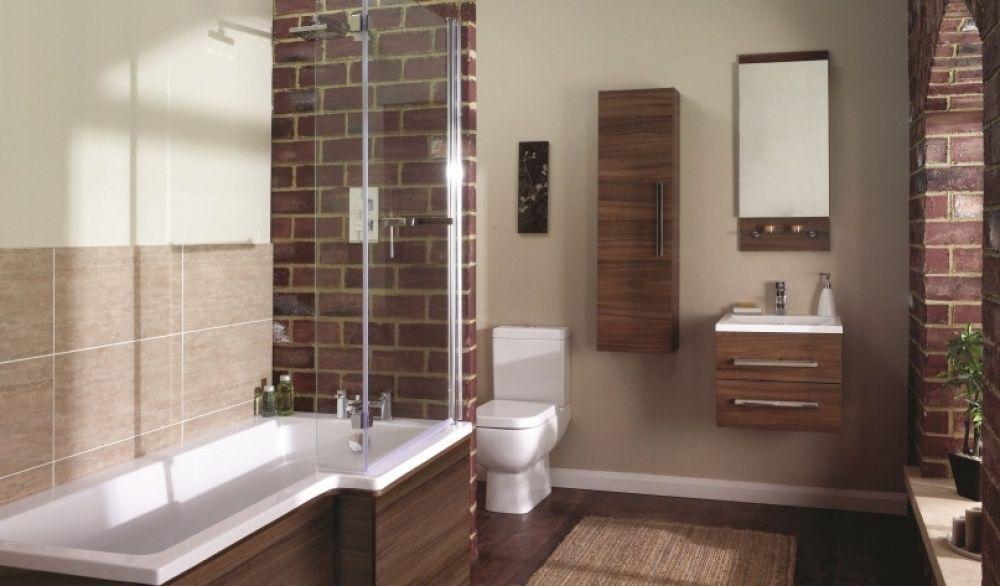 Frontline Aquatrend Shower Bath Suite RH with Toilet Basin UnitThis ...