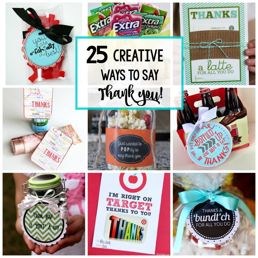 Say It Creative Personalized Shop: 25 Creative & Unique Thank You Gifts