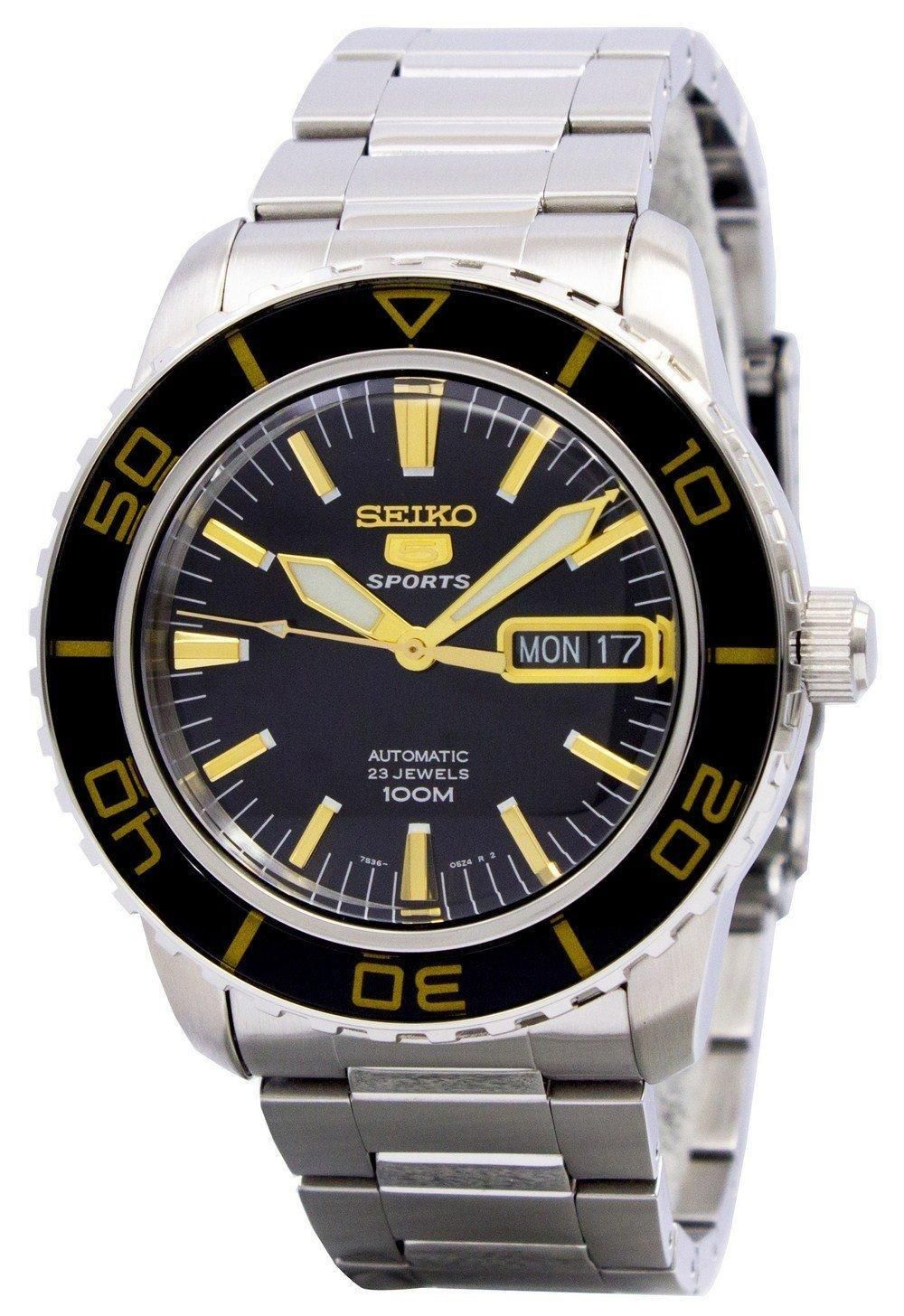 8d423e3b6 Seiko Automatic Sports Snzh57 Snzh57k1 Snzh57k Men's Watch (FREE Shipping)  Sale! Up to 75% OFF! Shop at Stylizio for women's and men's designer  handbags, ...