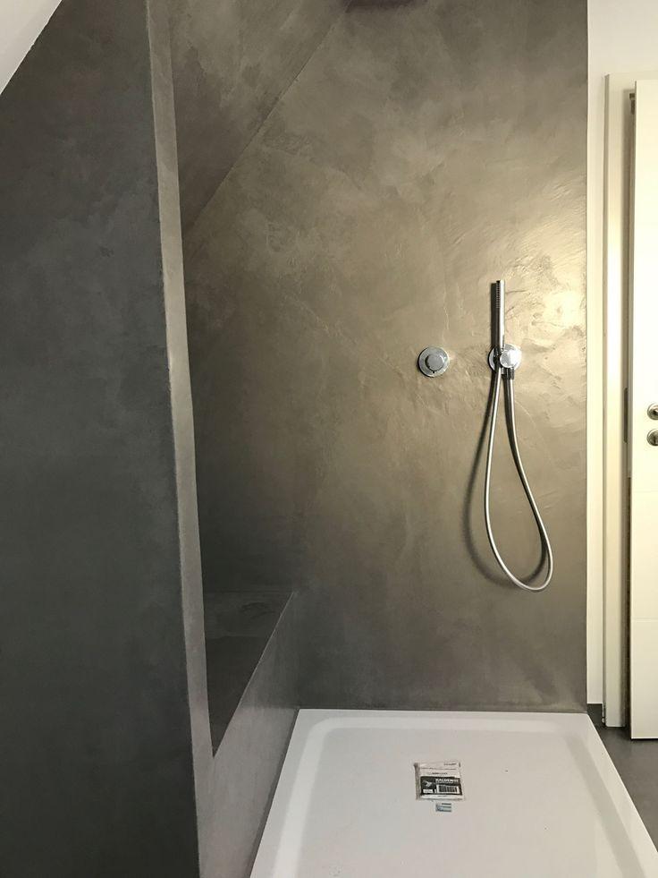 Carameo Mineralischer Putz Fur Fugenlose Bader Und Spachtelboden Mit Carameo Carameo Mineralischer Putz Fur Fugenlose Bathroom Styling Bath Outdoor Bathrooms