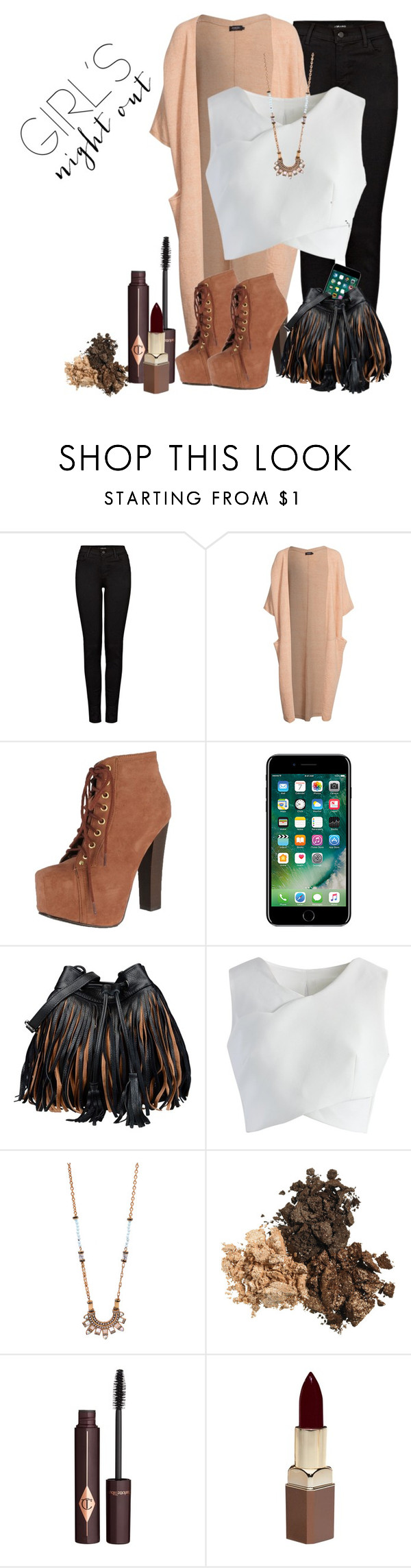 """""""Samantha"""" by catsanddogs-563 ❤ liked on Polyvore featuring J Brand, Soaked in Luxury, Breckelle's, George J. Love, Chicwish, Charlotte Tilbury and Fashion Fair"""