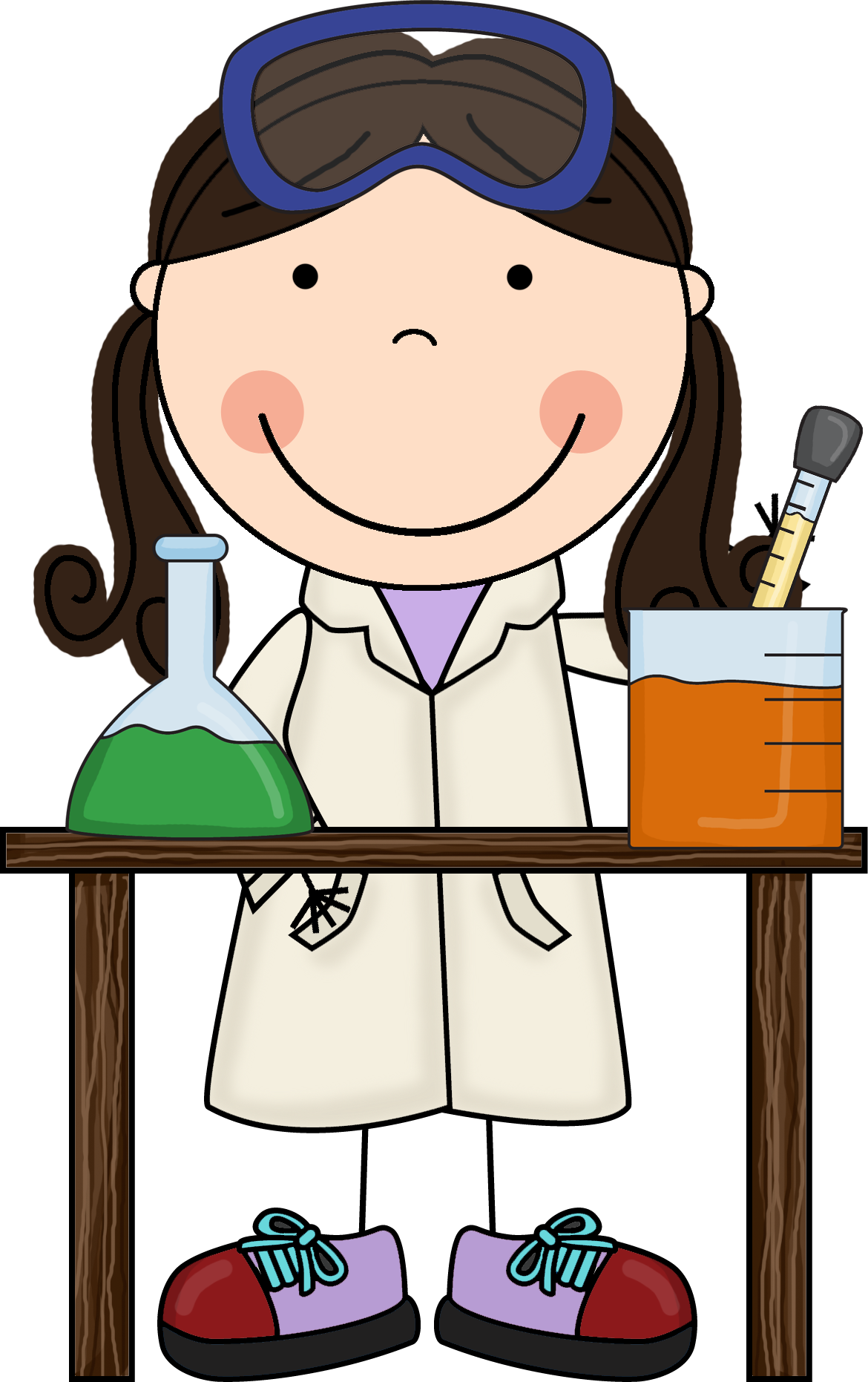 Pics photos clip art cartoon scientist with question mark stock - Science Clipart Free Clipart Best Clipart Best