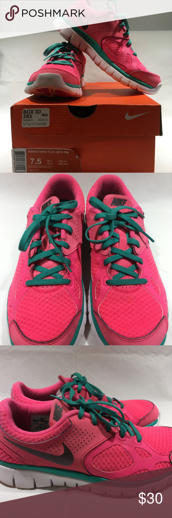 1d4903aee540 Nike Flex Experience RN 2012 Sneakers Size 7.5 Nike Flex Experience RN 2012  Sneakers Size 7.5