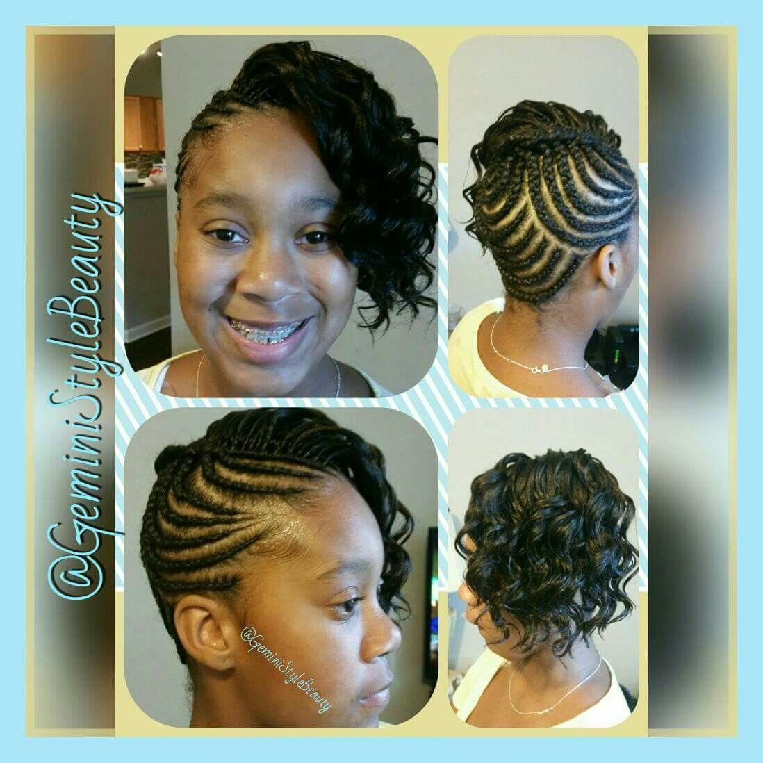 braided crochet updo crochet braids, wedding hair   little