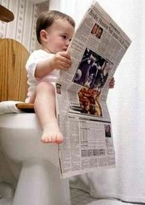 Cloth Diapers - they lead to potty training at a younger age
