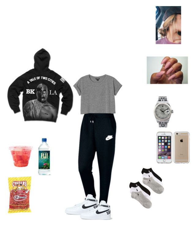 """""""Untitled #5"""" by lizzy-sossa on Polyvore featuring interior, interiors, interior design, home, home decor, interior decorating, NIKE, Monki, Polo Ralph Lauren and Rolex"""