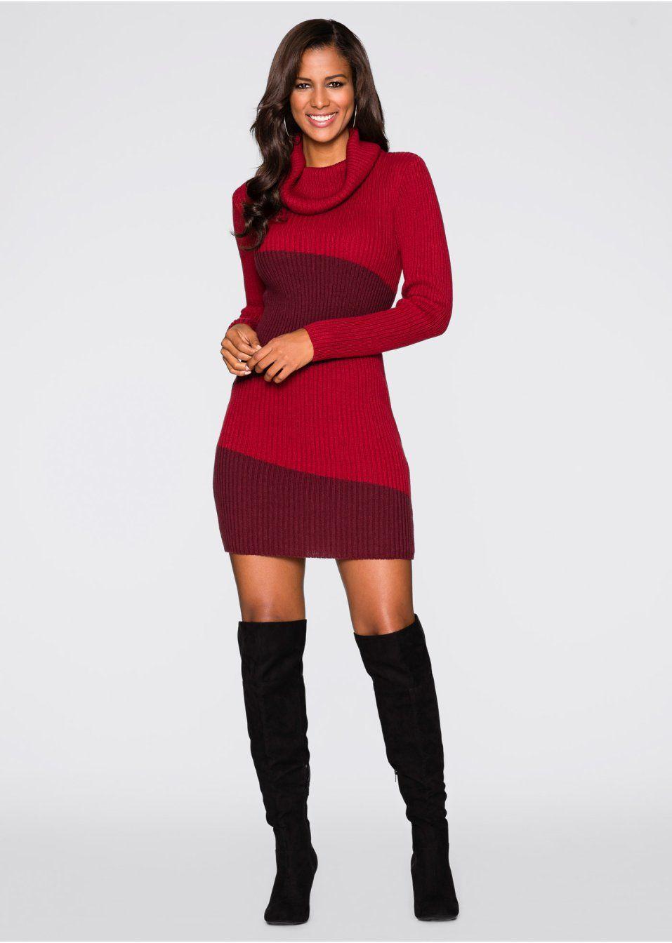 123a82eede Kötött ruha Casual és nőies • 5999.0 Ft • bonprix | ruhák ...