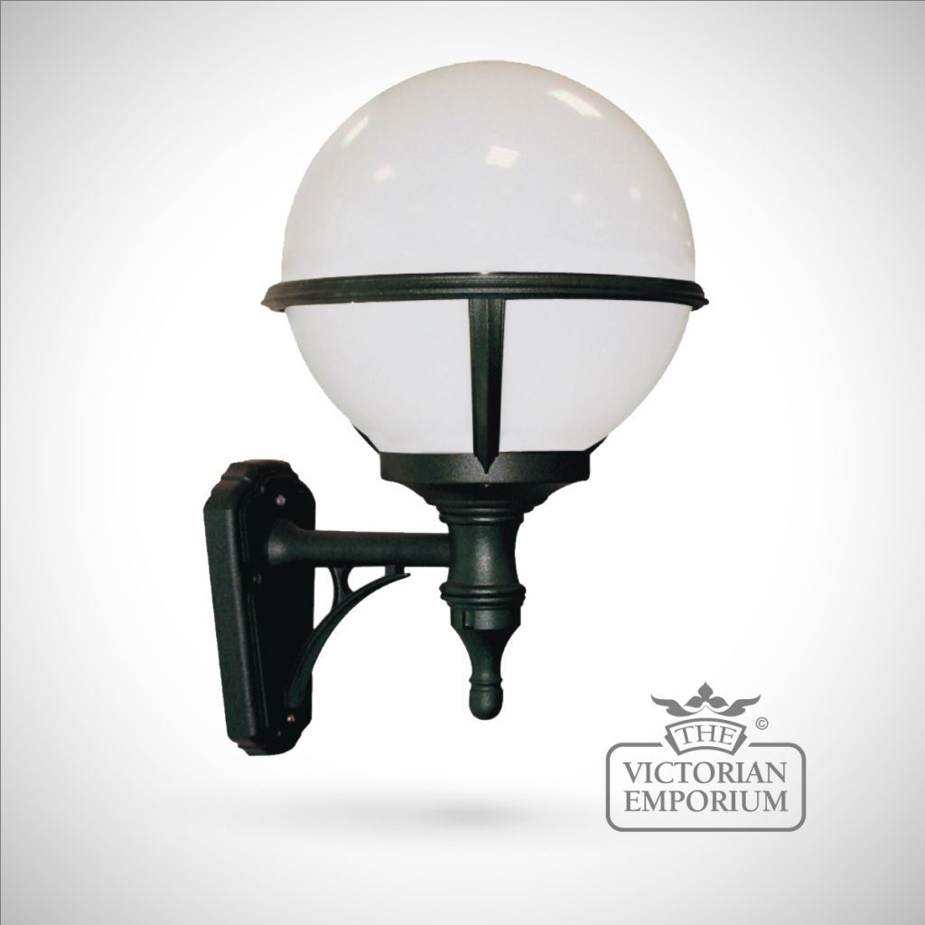 globe wall lantern outdoor wall lights lights pinterest