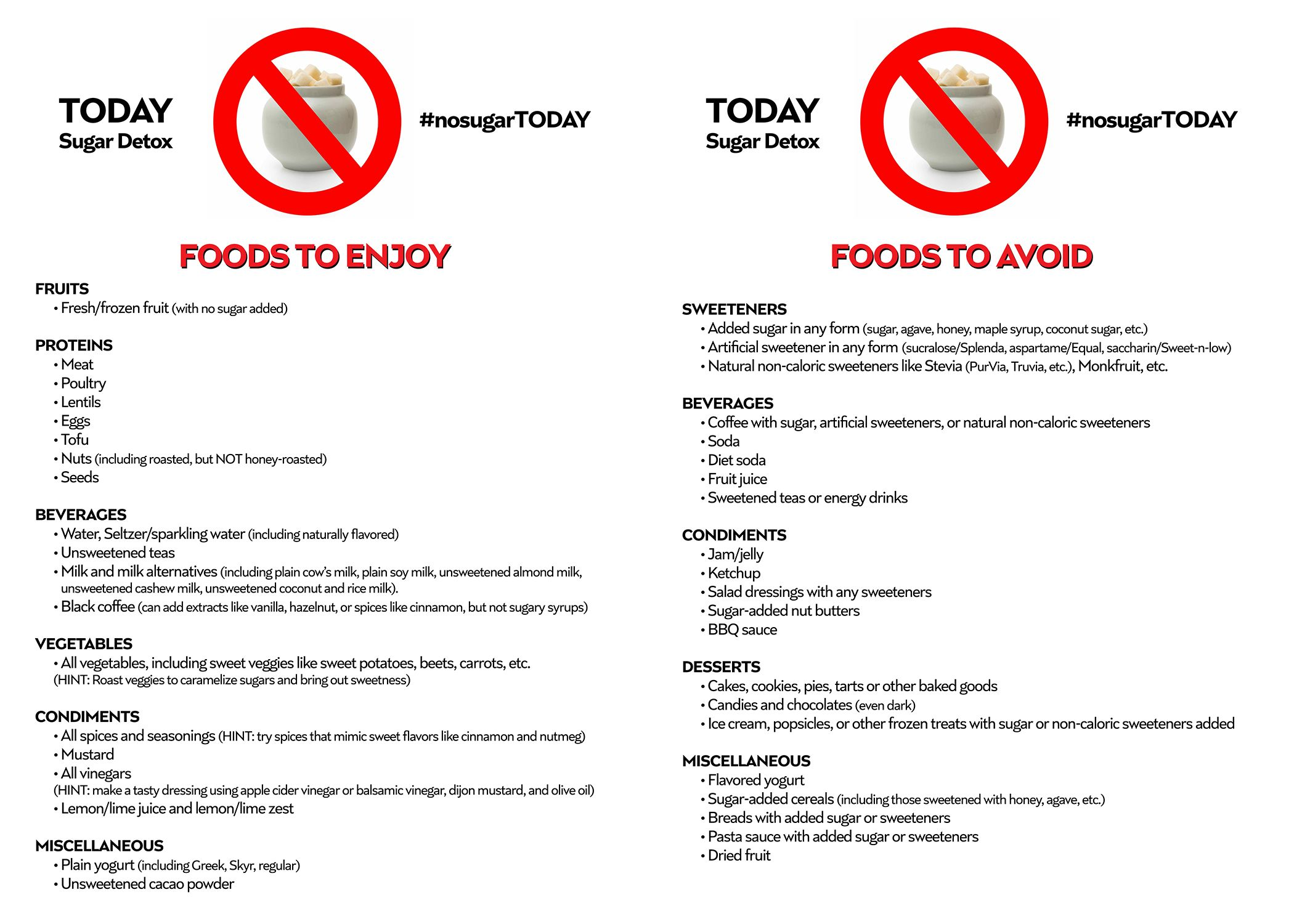 Your cheat sheet of foods you can enjoy and those to avoid on my snacks nvjuhfo Images