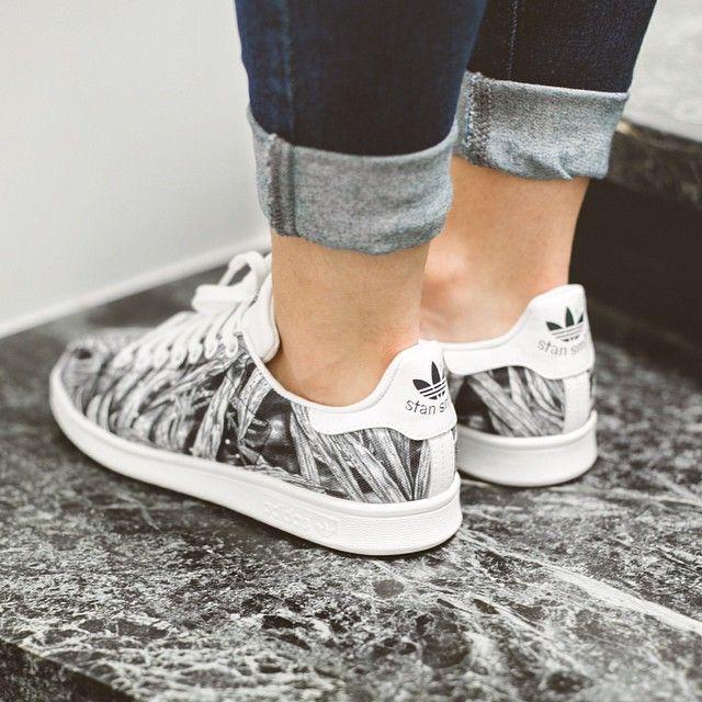 Adidas Originals Stan Smith 'leyenda de tinta / calzado blanco zapatos J