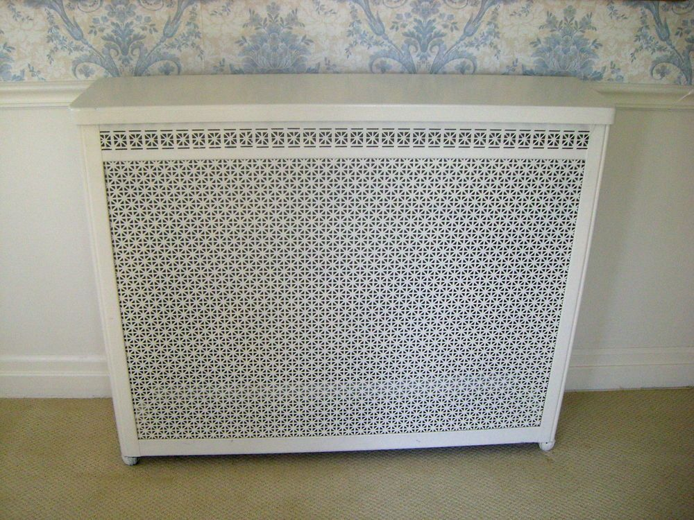 Vintage All Metal Home Radiator Cover 35 X 43 X 11 Chicago Pick Up Only Nice