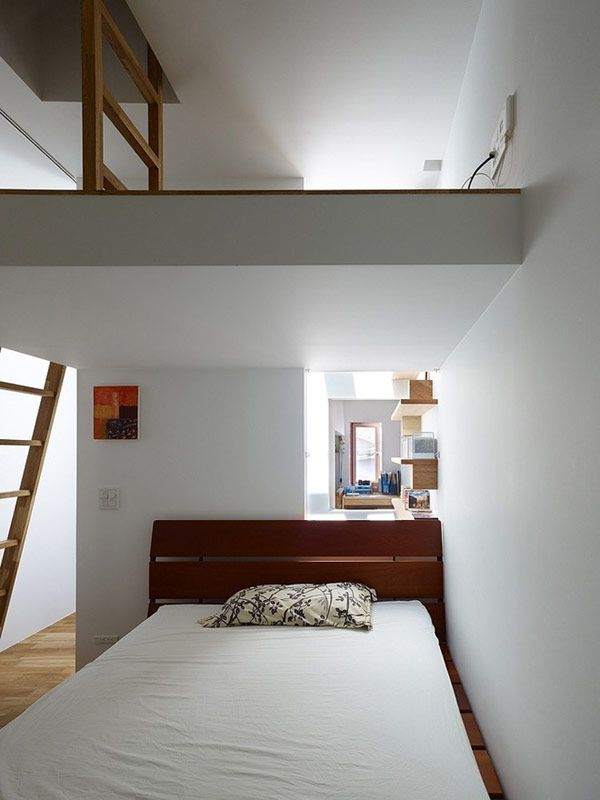 Japanisch Wohnen narrowhouse 06 modern architecture surprising narrow house