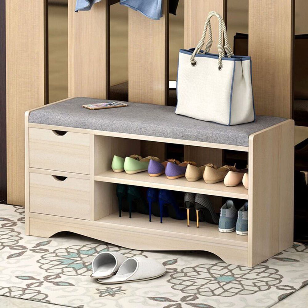 Modern Design Shoe Storage Cabinet With Soft Padded Cushion Good Choice For Hallway And Livi Wooden Shoe Cabinet Shoe Storage Bench Entryway Cabinets For Sale