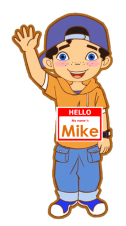 picture relating to Vipkid Printable Props known as Mike VIPKID VIPKID Props Vip child, Youngsters advantages, Youngster
