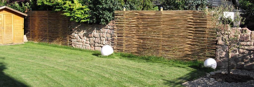 Eleganter Exklusiver Sichtschutz Aus Bambus Anbieterinfo Gardens