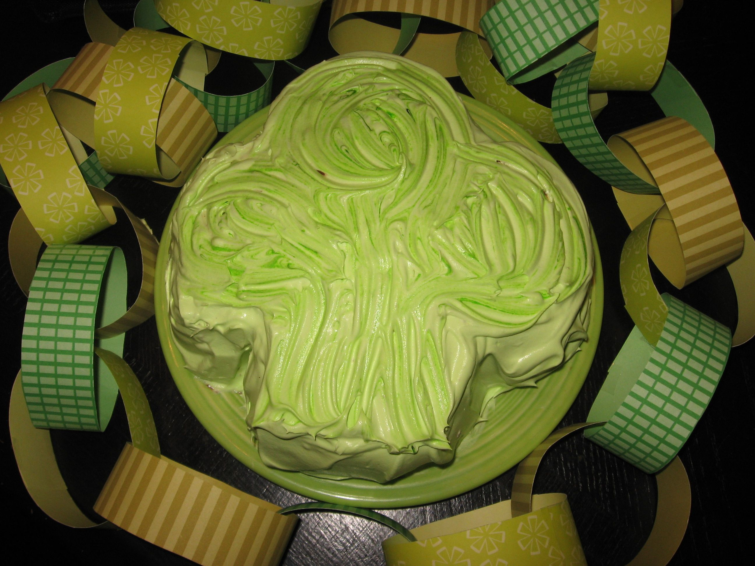 How To Make a Shamrock Cake @ thefedorows.hubpages.com