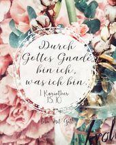 Durch Gottes Gnade Bin Ich Was Ich Bin
