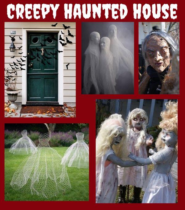 Haunted House Decorating Ideas Creepy Halloween Haunted House - halloween haunted house ideas