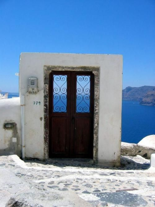Santorini, Greece... been there. My favorite place in all the world is Greece!