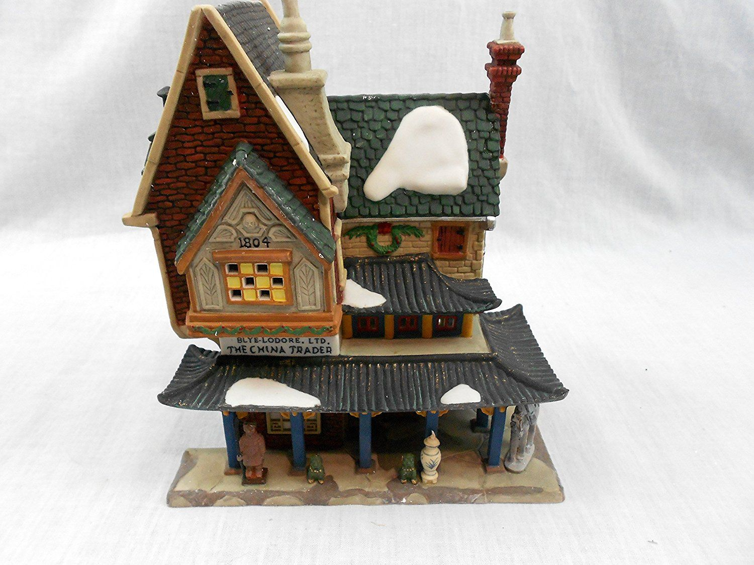 China Trader,Dickens' Village * Tried it! Love it! Click the image. : Decor Collectible Buildings and Accessories