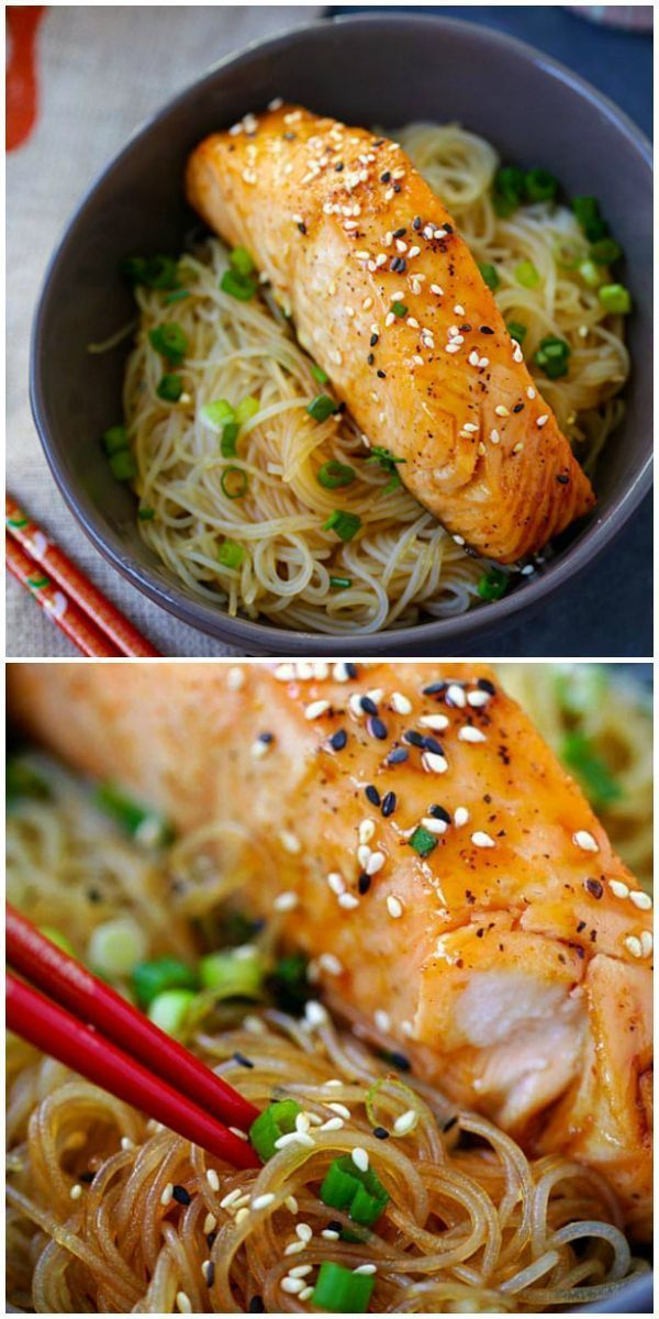 Salmon Teriyaki Noodles - moist and juicy salmon and rice noodles made with San-J Tamari. Gluten-free, healthy family weeknight dinner | rasamalaysia.com Salmon Teriyaki Noodles - moist and juicy salmon and rice noodles made with San-J Tamari. Gluten-free, healthy family weeknight dinner | rasamalaysia.com #salmonteriyaki Salmon Teriyaki Noodles - moist and juicy salmon and rice noodles made with San-J Tamari. Gluten-free, healthy family weeknight dinner | rasamalaysia.com Salmon Teriyaki Noodle #salmonteriyaki