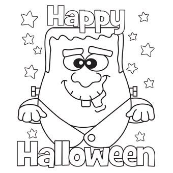 24 free printable halloween coloring pages for kids print them all - Monster Pictures For Kids To Print
