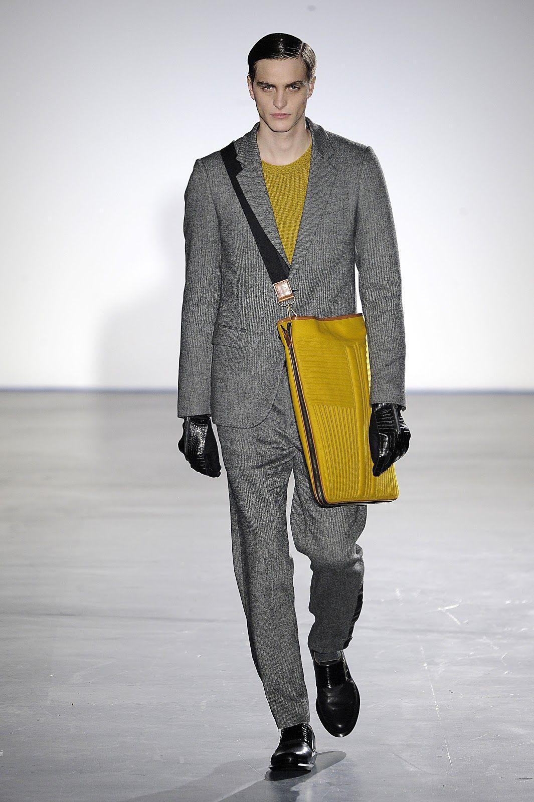 Standard Deviation - Fashion. Design. Culture. Art. Myko.: Wooyoungmi Fall / Winter 2013 Menswear Runway + Video