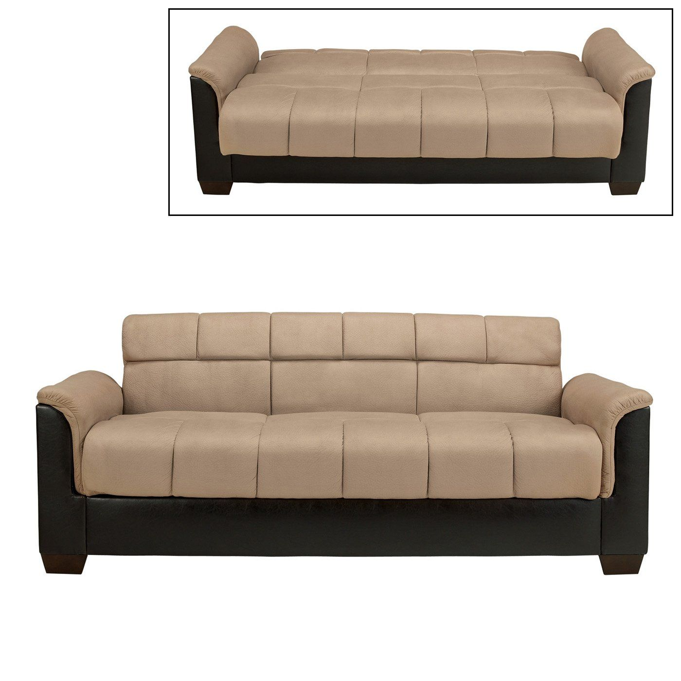 Signature Design By Ashley 5850164 Roxanne Flip Flop Sofa With Storage