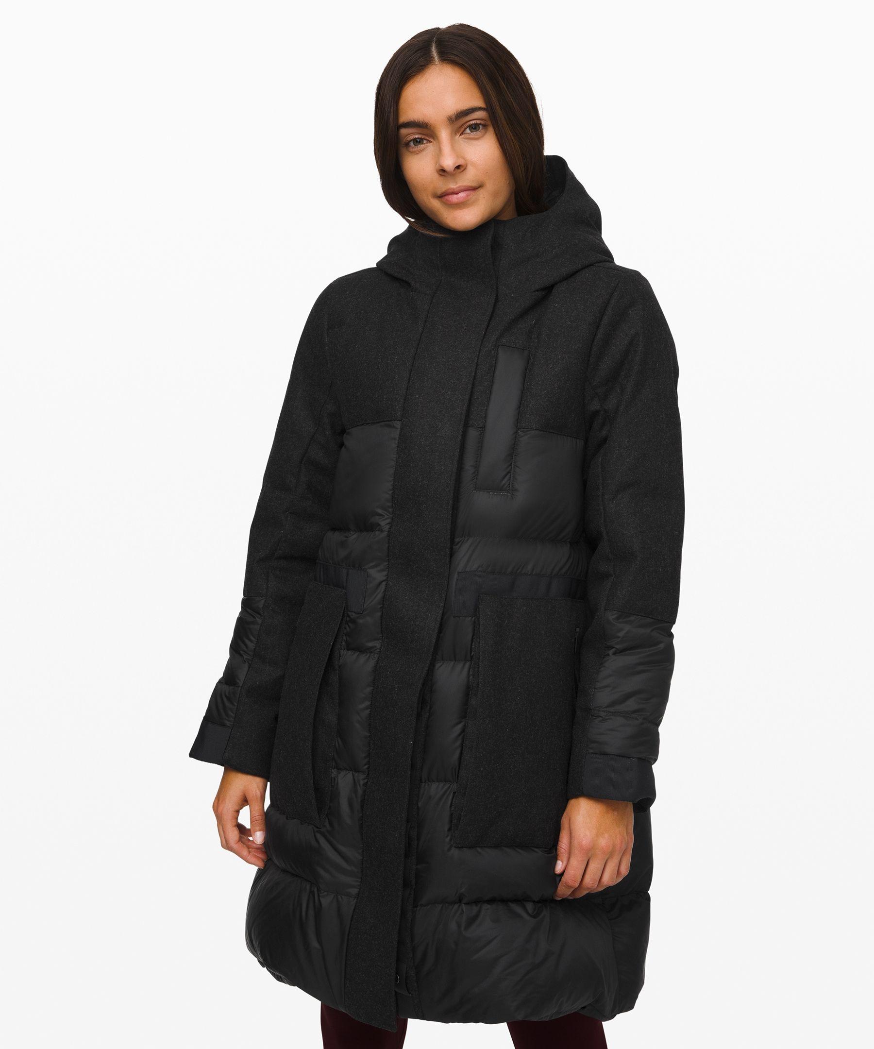 Lululemon Winter Chill Wool Parka Lululemon Cloth Coats For Women Parka Womens Parka [ 2160 x 1800 Pixel ]