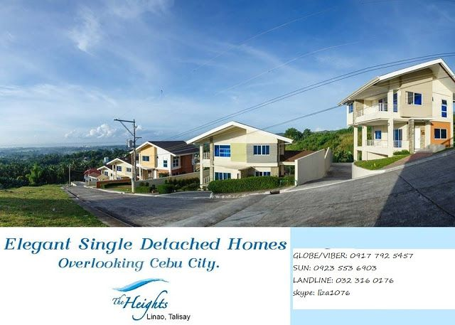 Breathtaking View Overlooking Grand Houses Talisay Cebu Linao Talisay Grand Homes Cebu Breathtaking Views
