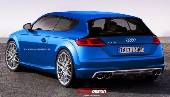 Rendu Audi Tt S Shooting Brake Par X Tomi Concept Prototype